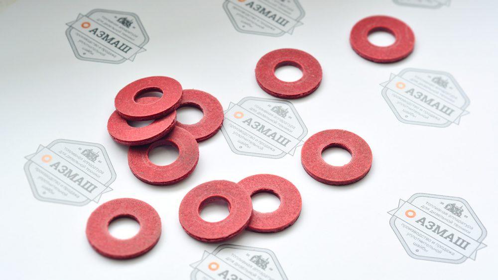 Производство прокладок из красной фибры